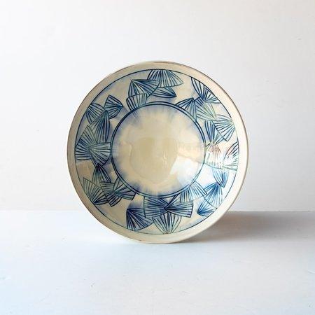 Ariane Boudreault-Lambert Large Mishima Presentation Bowl - Blue