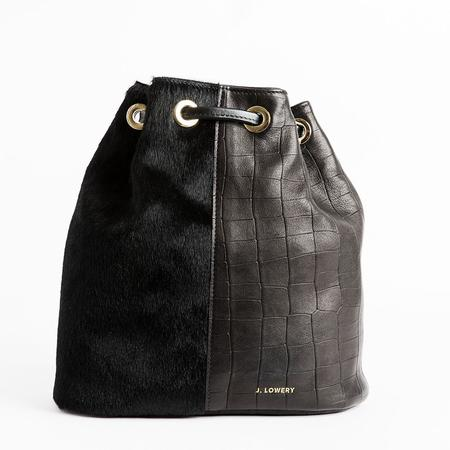 J. Lowery Scott Backpack - Black Croc