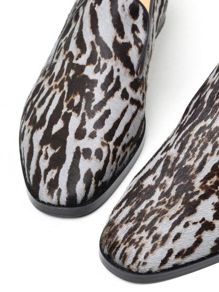 Gigikoko Paros Loafer - Zebra Gray