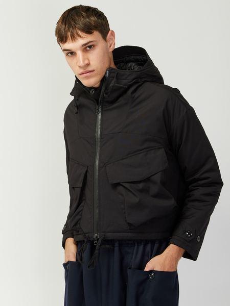 Monitaly Cropped Expedition Jacket - Black