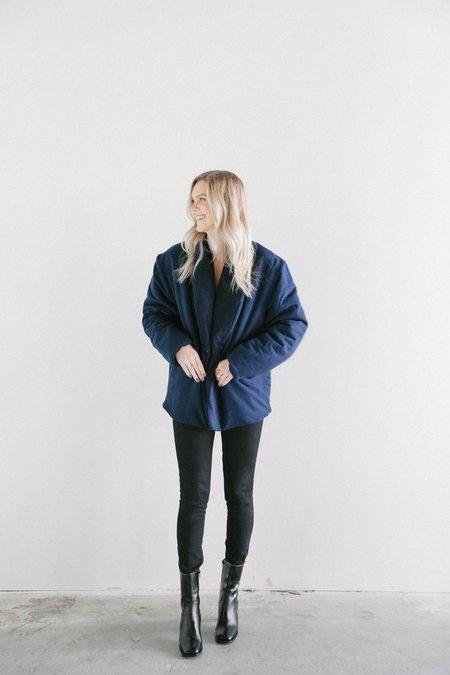 Toit Volant La Buxerette jacket - Navy