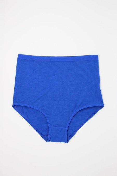 Baserange Bamboo Jersey Highwaist Bell Pants - Hanja Blue
