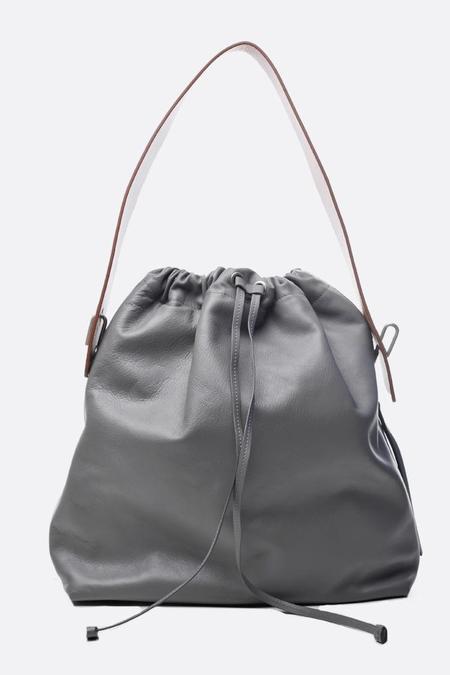 Bonastre Large Lune Bag - Grey/Beige