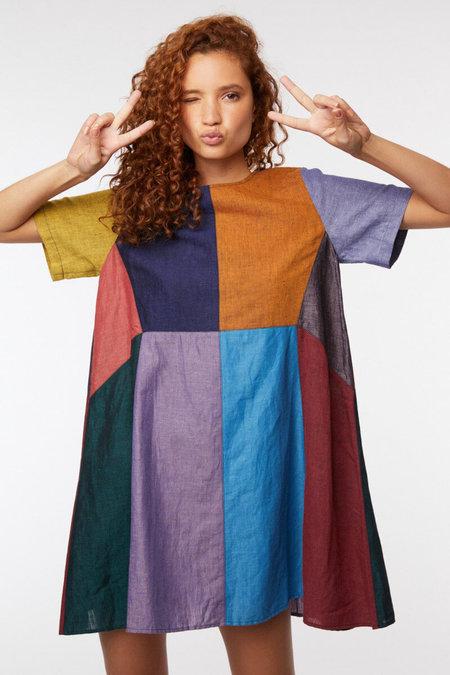 Gorman Splice Dress - Colorblock