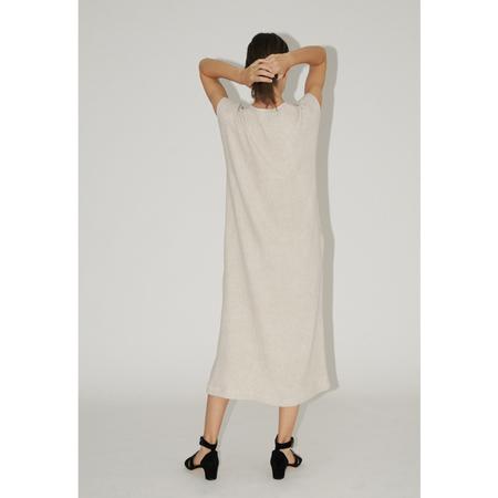 Diarte VERDUN DRESS - NATURAL LINEN