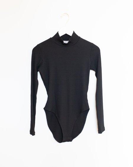 Kamperett Turtleneck Bodysuit - Black