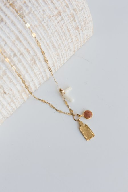 Takara Cove Necklace - Gold