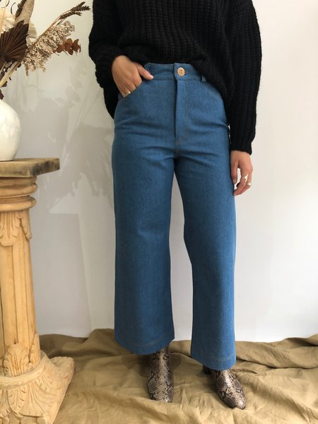 Harly Jae Pierrot Pants - Denim