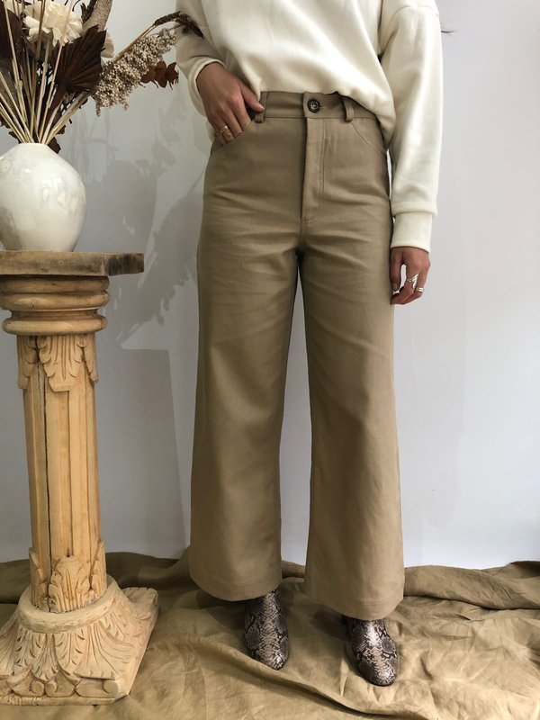 Harly Jae Pierrot Pants - Nomad