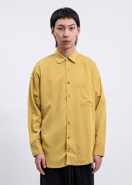 Komakino 019 Oversized Shirt - Mustard