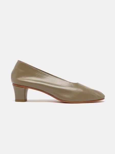 martiniano high glove shoe - champignon