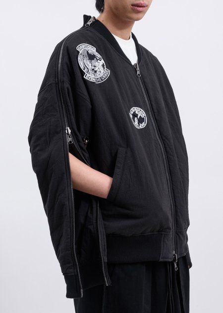 Komakino Peel Reversible MA-1 - Black