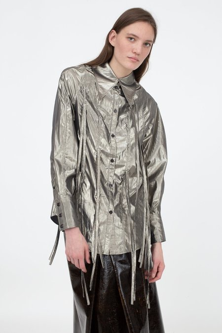 Rejina Pyo Lana Shirt - Silver