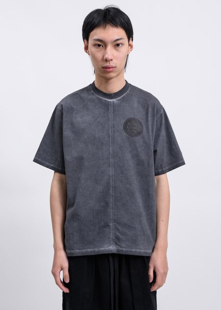 Komakino Space Dye Clockwork Jersey T-Shirt - Grey