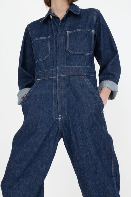 As Ever Zip Jumpsuit - Denim