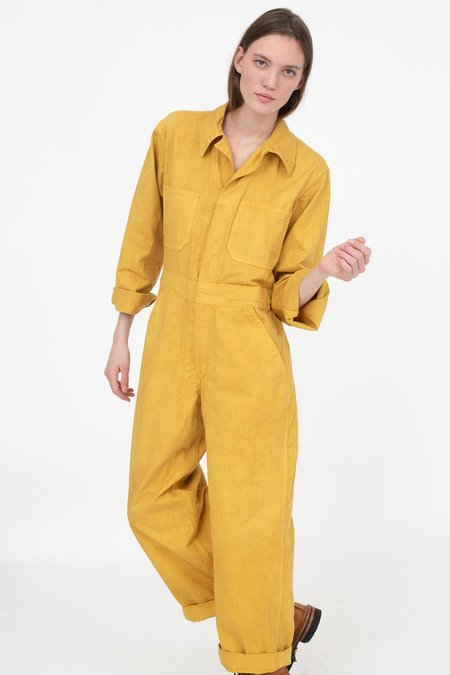 As Ever Zip Jumpsuit - Goldenrod