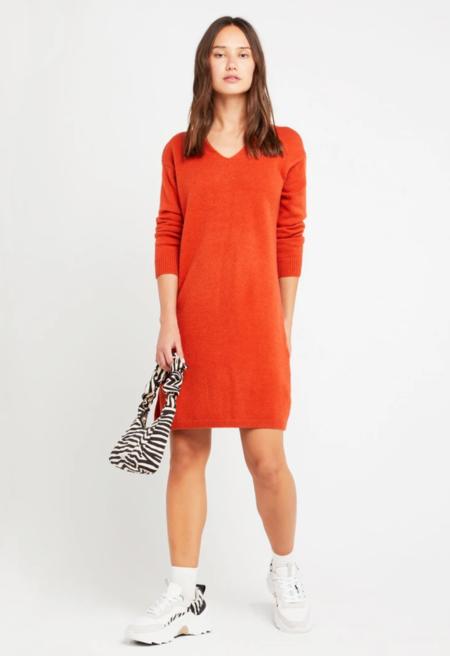 CAARA Cara Dress - Dark Orange