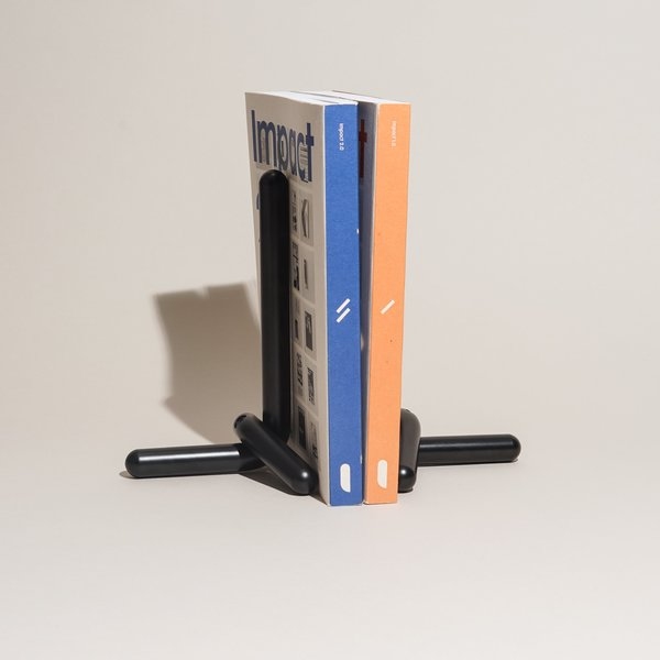 Craighill Cal Bookends - Black