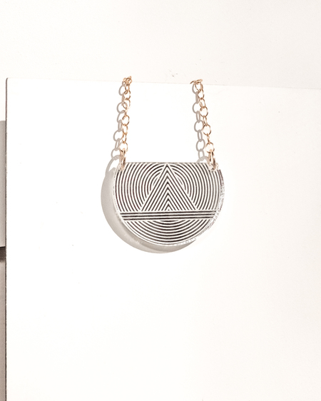 FOOL'S GOLD bella necklace