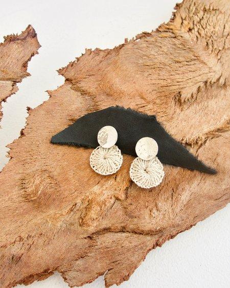 Bilum & Bilas Bertha Earrings - Sterling Silver