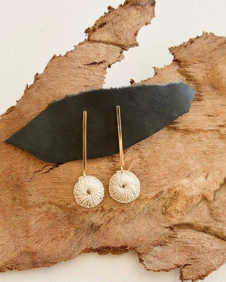 Bilum & Bilas Rait Earrings - Gold