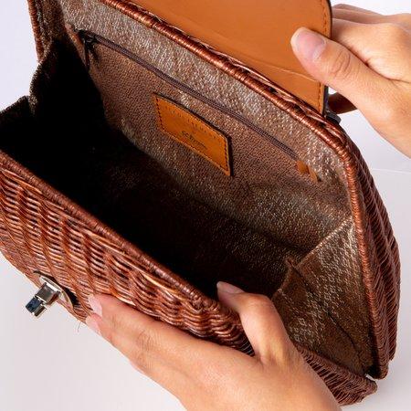 Accountrements LA Clara Handbag - Brown