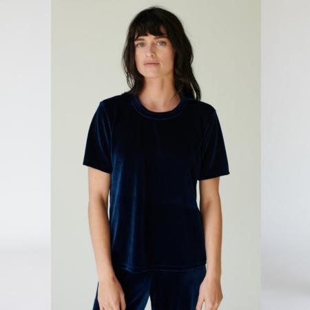 Stateside Velvet Crew Short Sleeve T-Shirt
