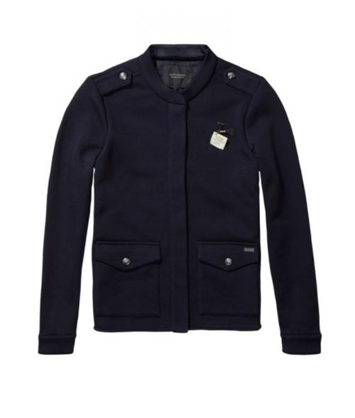 Maison Scotch Military Sweat Jacket