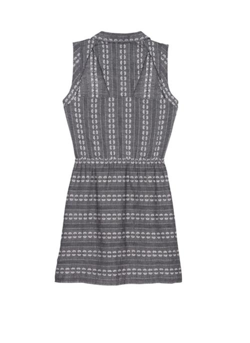 Daisy Cotton Jacquard Dress