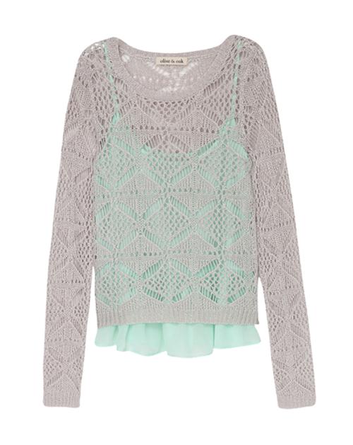 Crochet Sweater & Cami