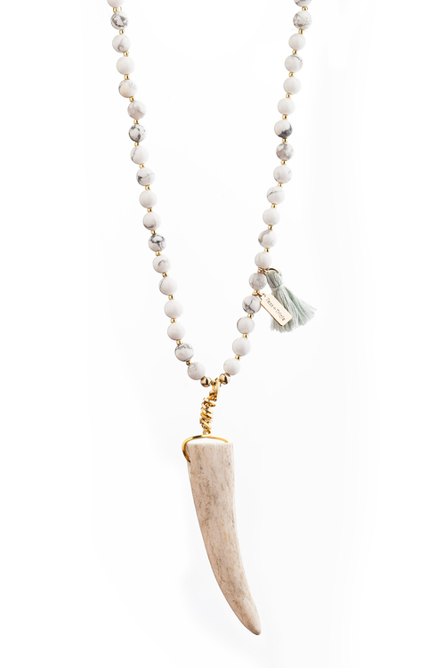 Bella Antler Tip Necklace
