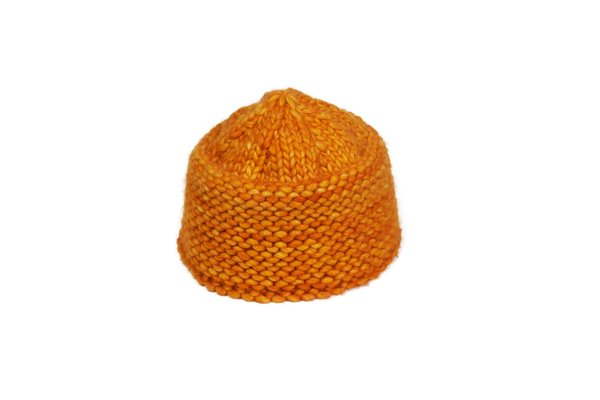Clyde Knit Cossack hat - Marigold