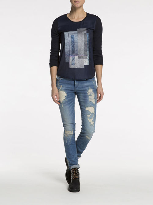 Silky Front Photo Tee