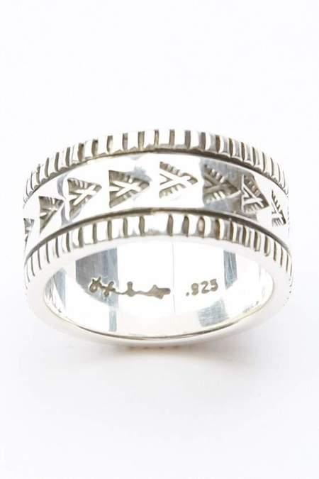 Lyle Secatero Abundance Home Ring - Silver