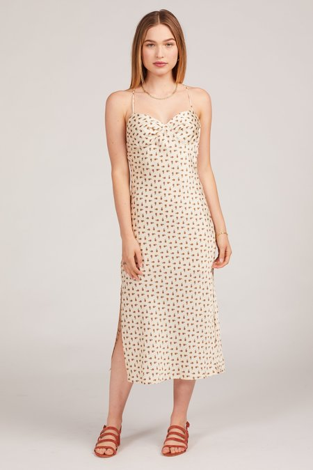 Cotton Candy LA Meadow Dress - Ivory