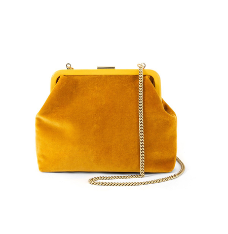 Clare V. Flore bag - Goldenrod