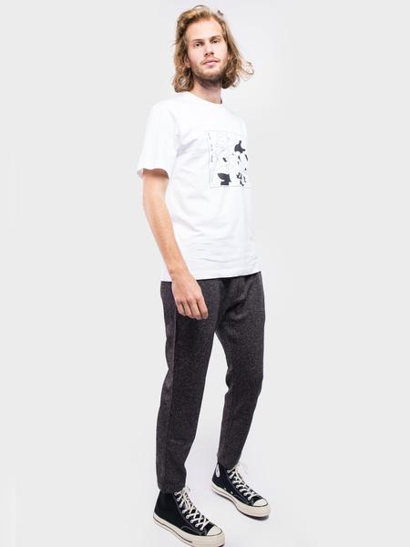 Carne Bollente Wow wow wow T-Shirt - White