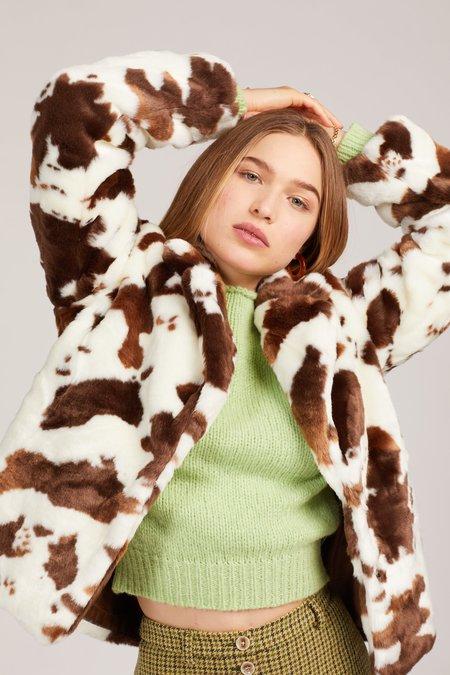 Emory Park Bessie Jacket - Cow Print