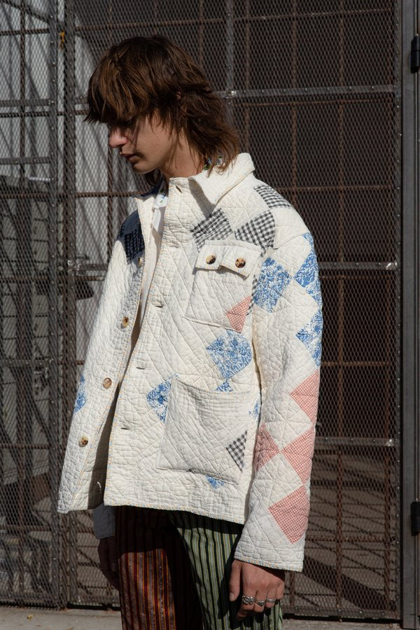 BODE Quilted Workwear Jacket - Multicolor