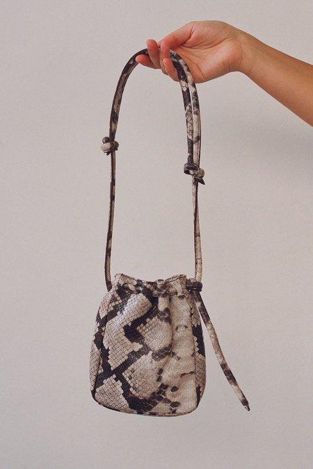 Paloma Wool Sanaga Leather Bag - Snake