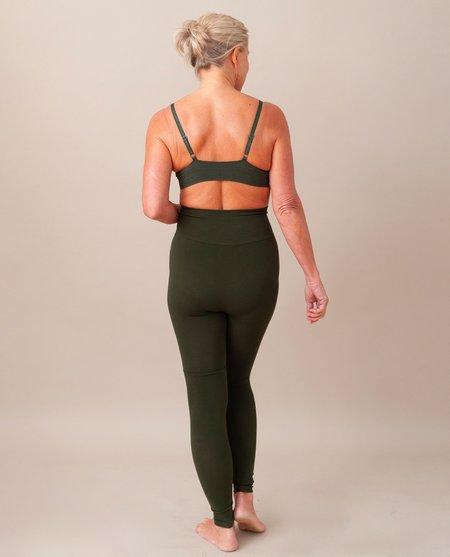 Beaumont Organic Lisa Bamboo Leggings - Khaki