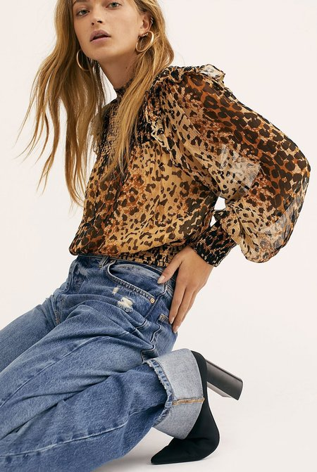 Free People Roma Bouse - Leopard