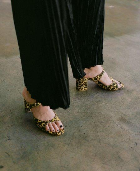 Maryam Nassir Zadeh Una Sandal - Cheetah