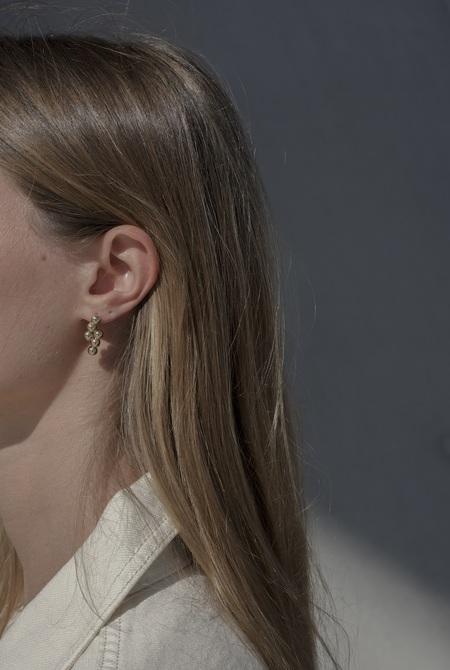 Anne Thomas Ernest Earrings - 24k Gold Filled