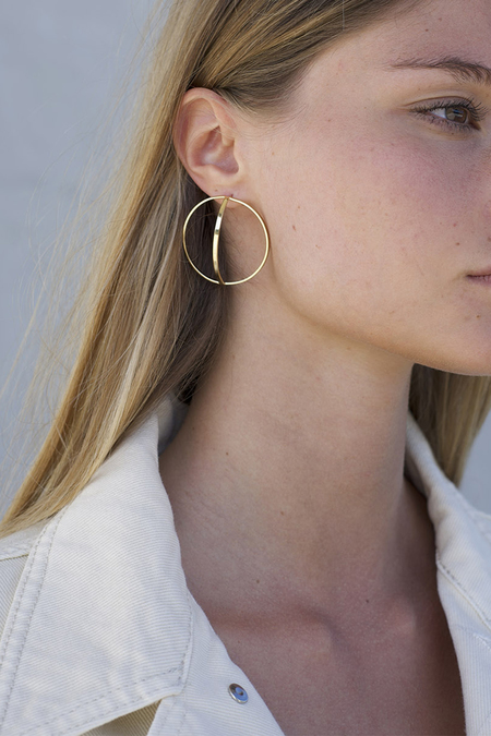 Anne Thomas Colette Earrings - 24k Gold Filled