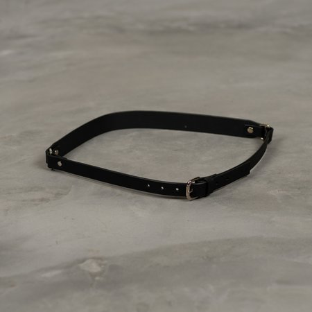 Fleet IIya Double D-Ring Belt - Black/Silver