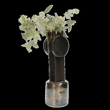 Bzippy & Co. Circle Top Vase - Palladium