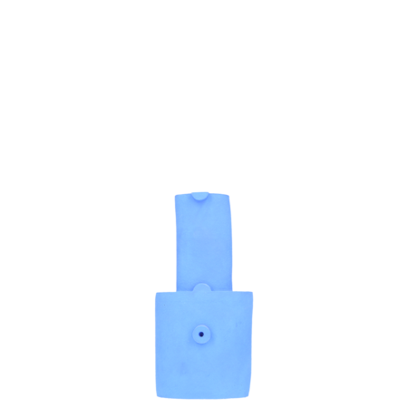 Bzippy & Co. Small Bottle Vase - Klein Blue