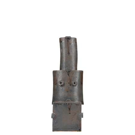 Bzippy & Co. Tall Stack Vase - Iron Gate Black