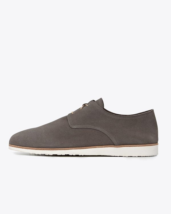 Nisolo Travel Derby - Slate Grey